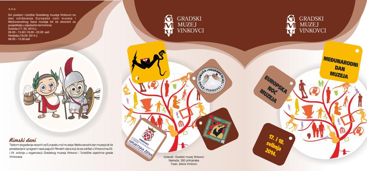 GMVk Pozivnica za Međunarodni dan muzeja 2014
