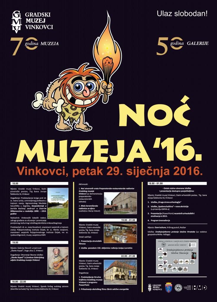 NocMuzeja - plakat