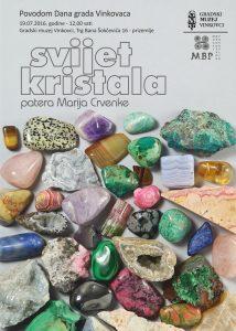 GMVK – Otvorenje izložbe 'Svijet kristala' [PRESS]